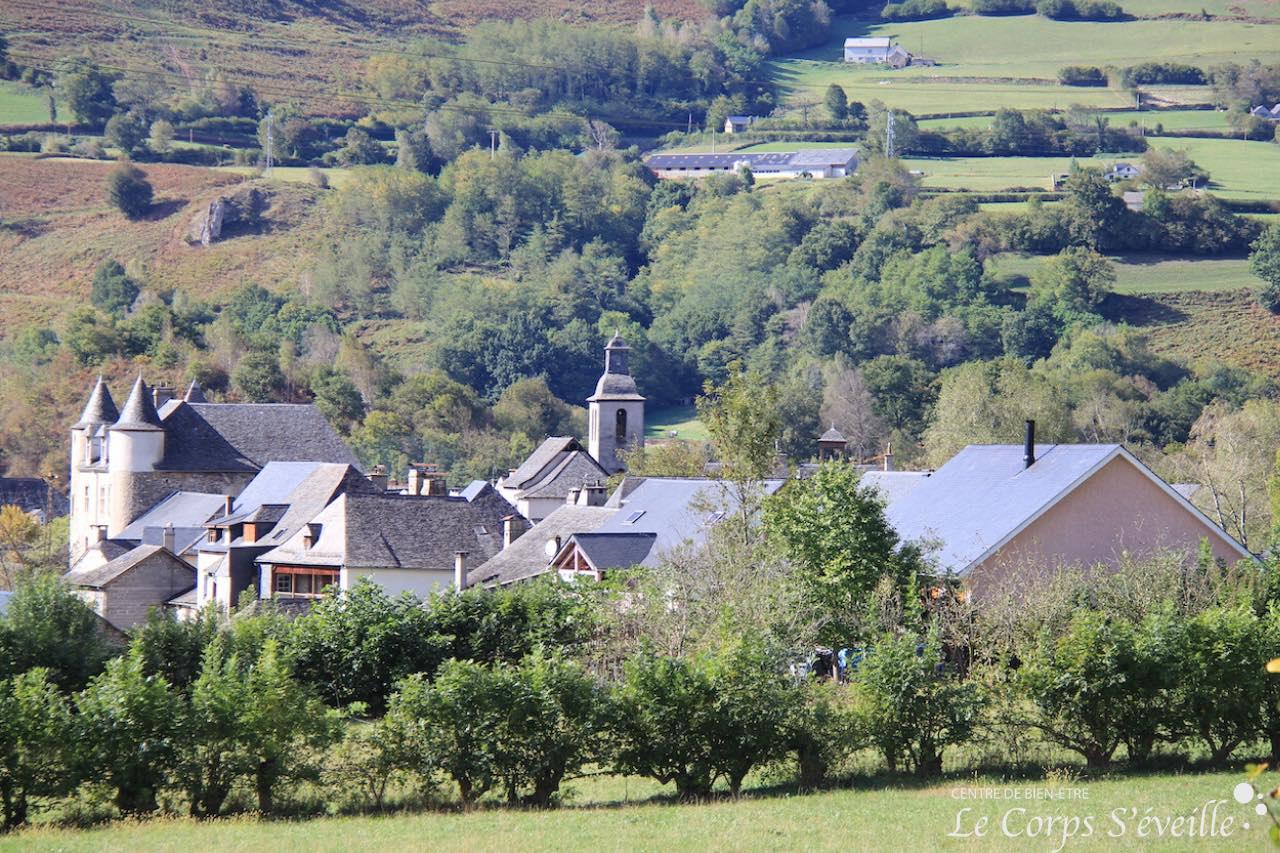 Le village de Bedous, dans les Pyrénées béarnaises.