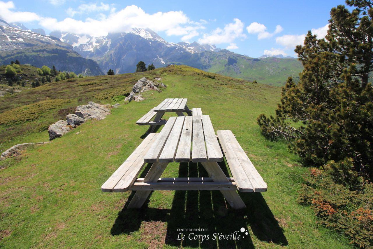 Bien-être de janvier à décembre en Vallée d'Aspe, au sud de Pau et Oloron-Sainte-Marie.