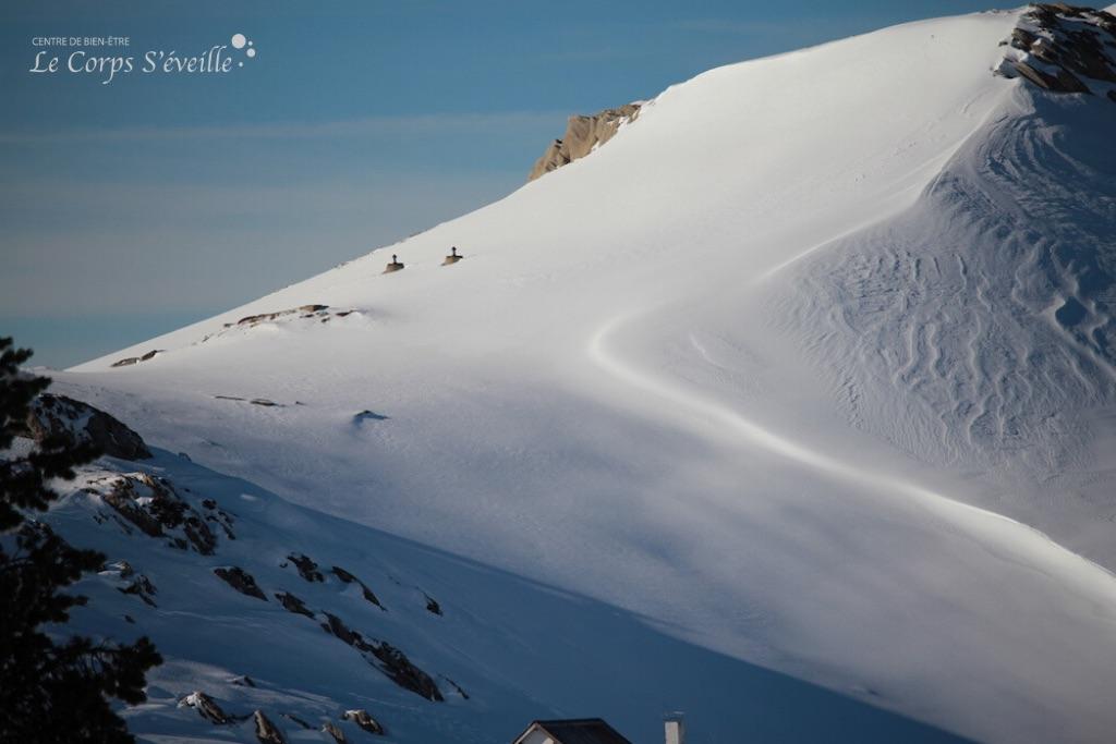 Bien-être hivernal en Vallée d'Aspe, Pyrénées Atlantiques.