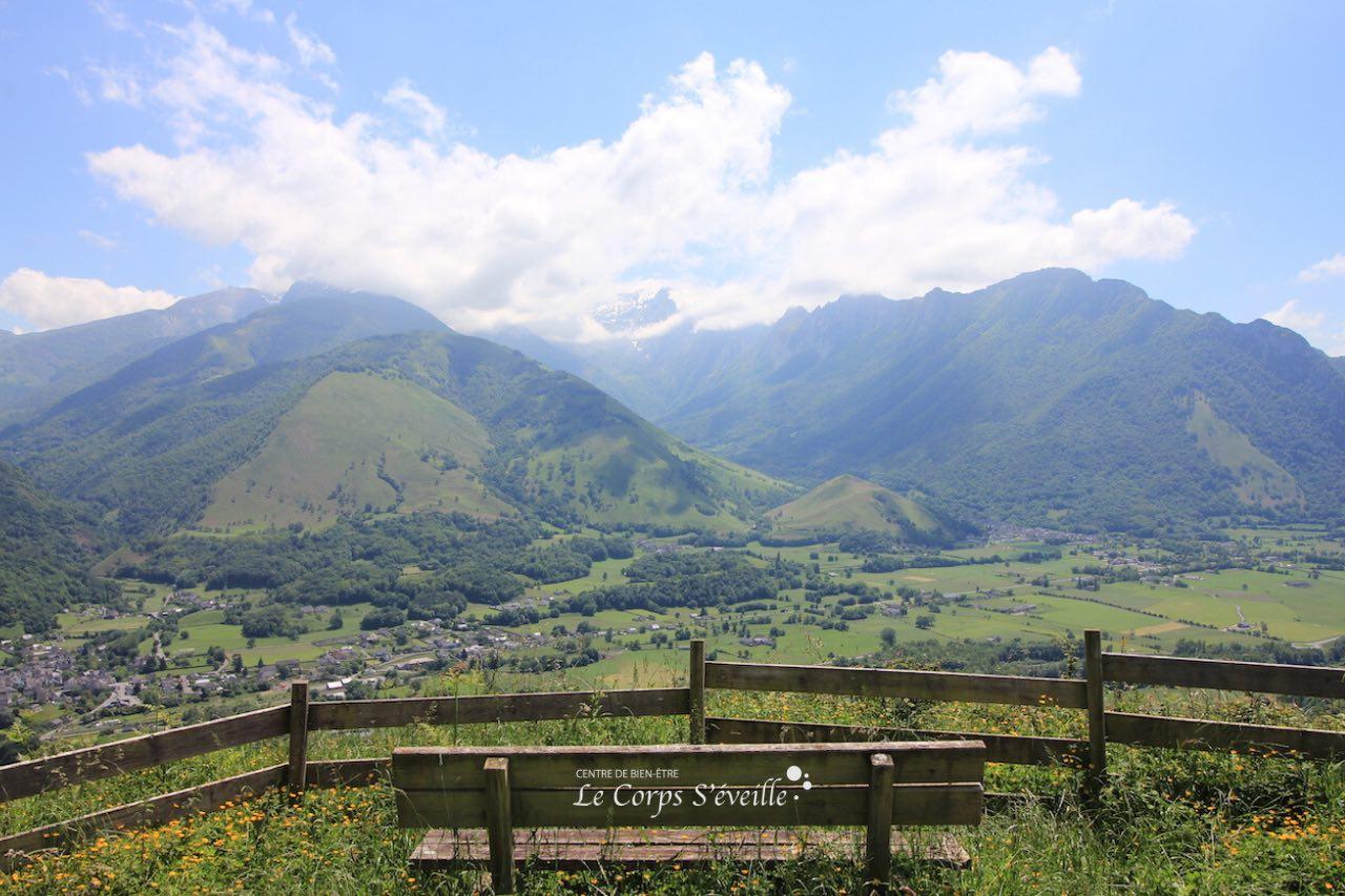 Une cure de bien-être depuis le point de vue de Osse-en-Aspe, en Vallée d'Aspe.
