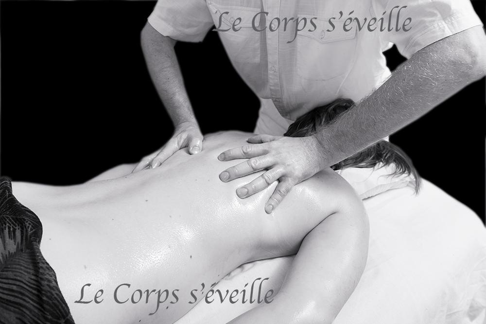Les massages vus par Cyrille Cauvet, photographe, au Centre de bien-être en Pyrénées béarnaises.