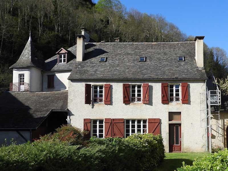 Le gîte d'étape et de séjour Chaneü à Osse-en-Aspe, Pyrénées béarnaises.