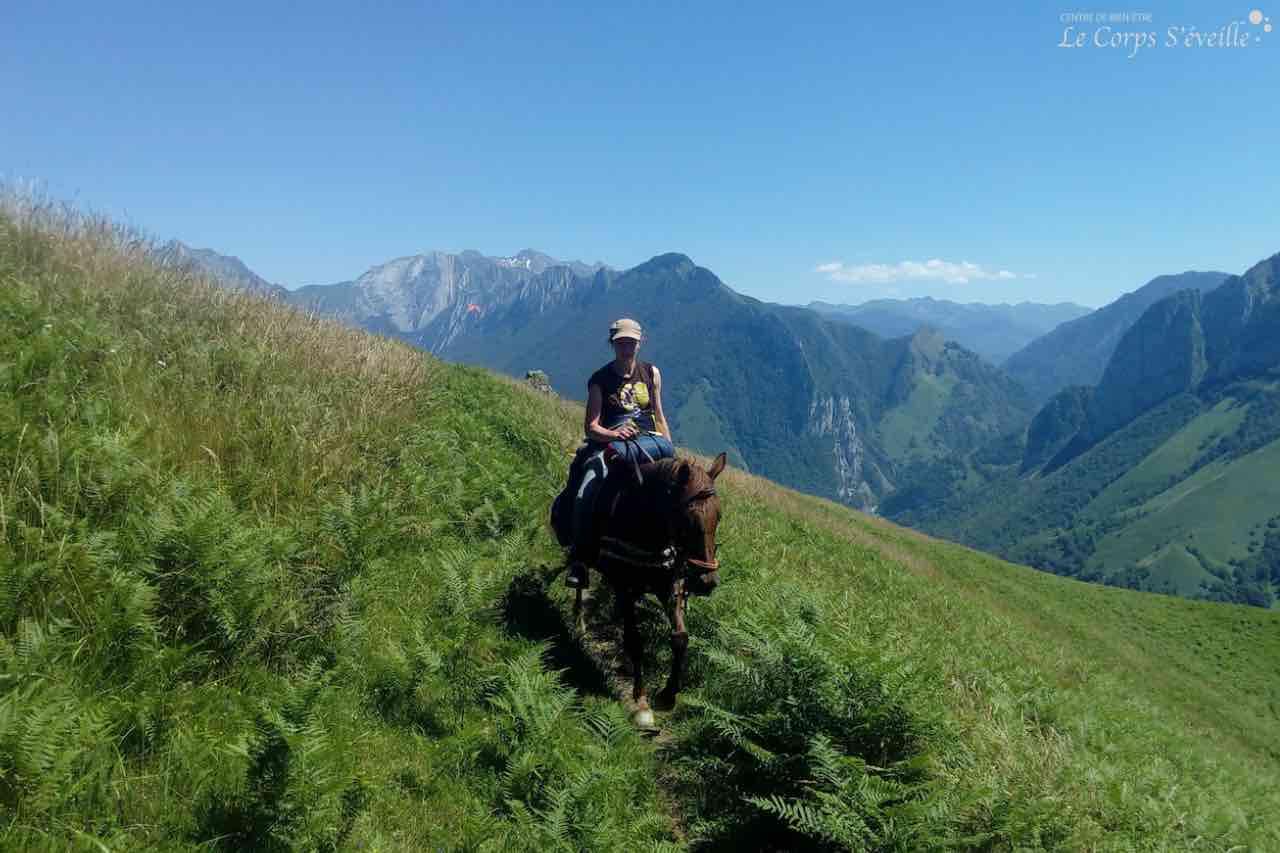 Explorer les Pyrénées béarnaises à cheval au départ de Lourdios-Ichère.