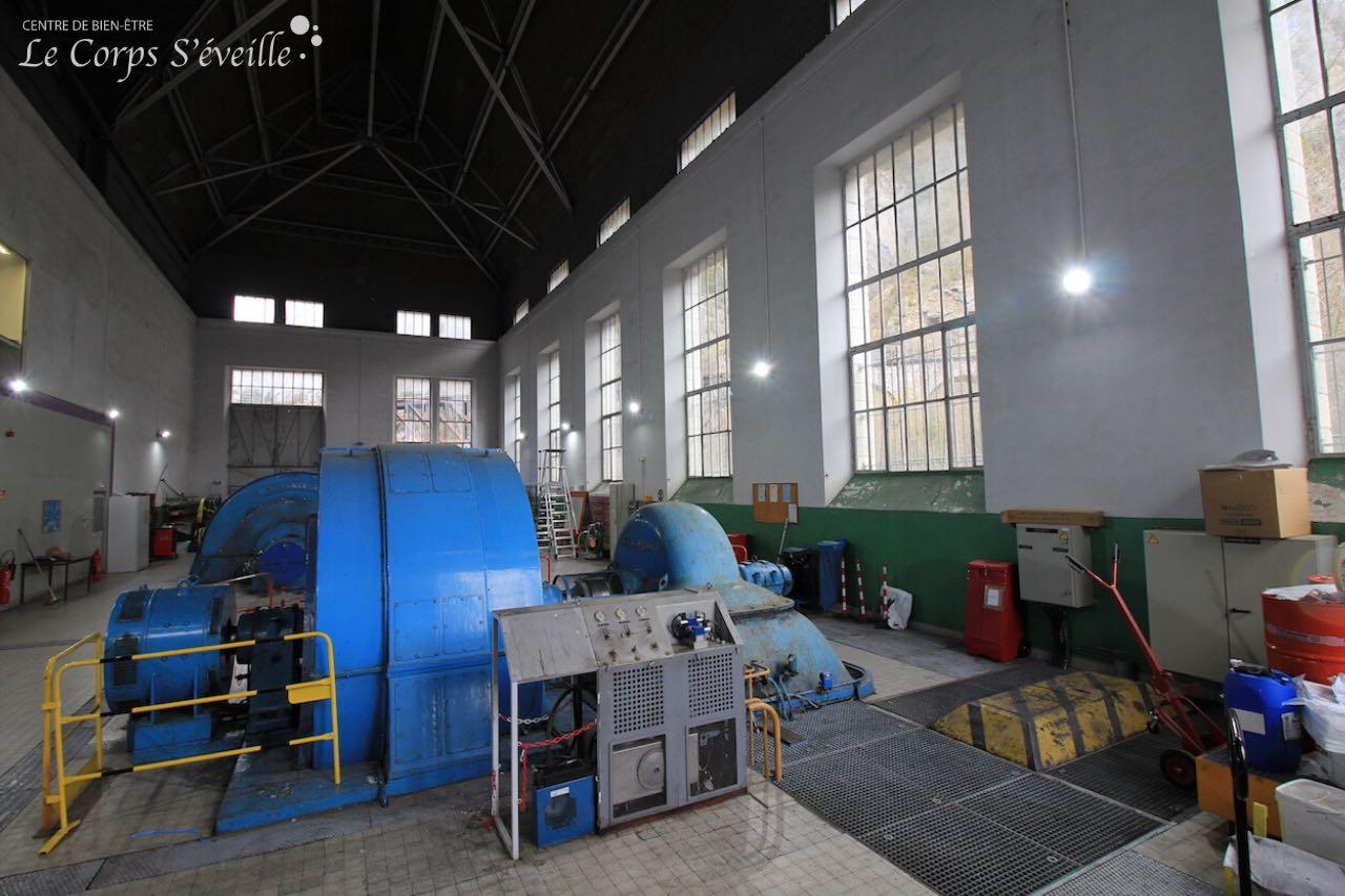 La centrale hydraulique de Baralet, près de Urdos.