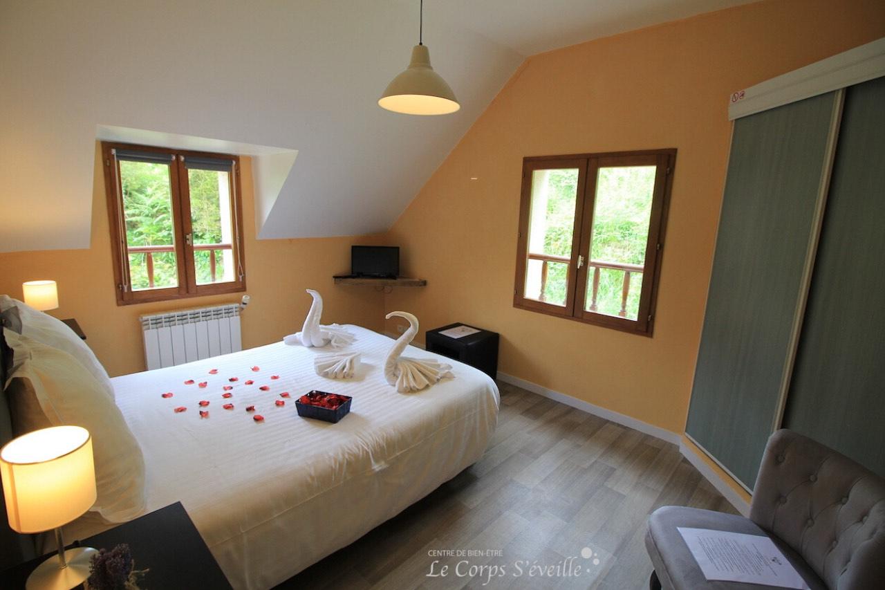 Chambre Mailh Massibe à La Curette, Pyrénées béarnaises.