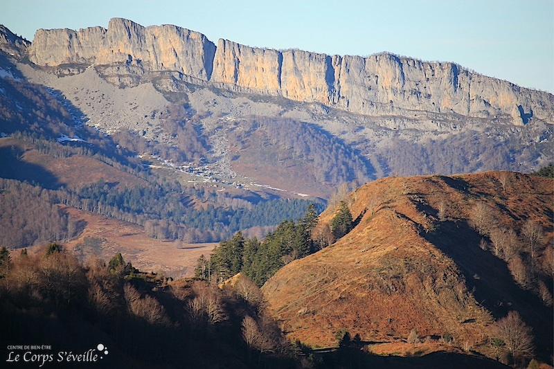 Le chemin de la liberté au départ de Lhers, en Vallée d'Aspe.