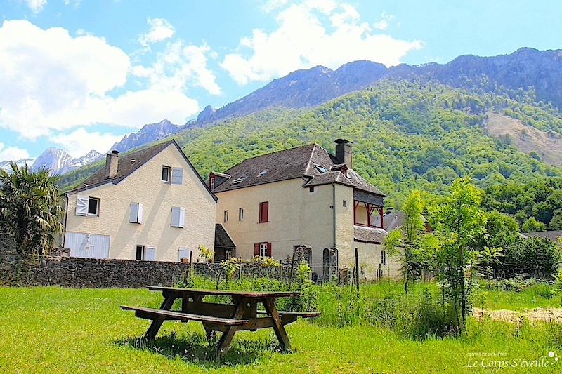 La Maison Despourrins, gîte d'étape et de séjour à Accous, en Pyrénées béarnaises.