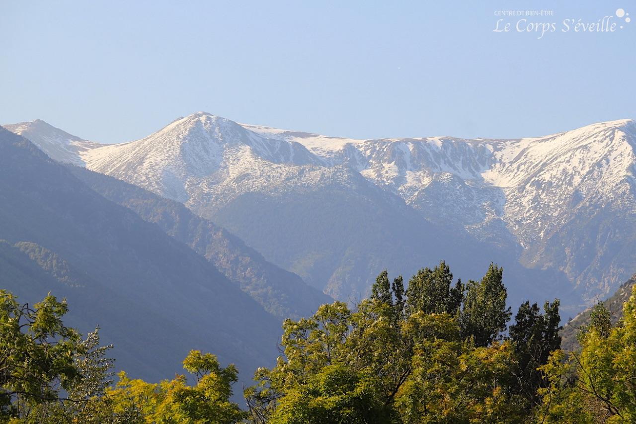 Pyrénées : massages bien-être et bol d'air toute l'année.