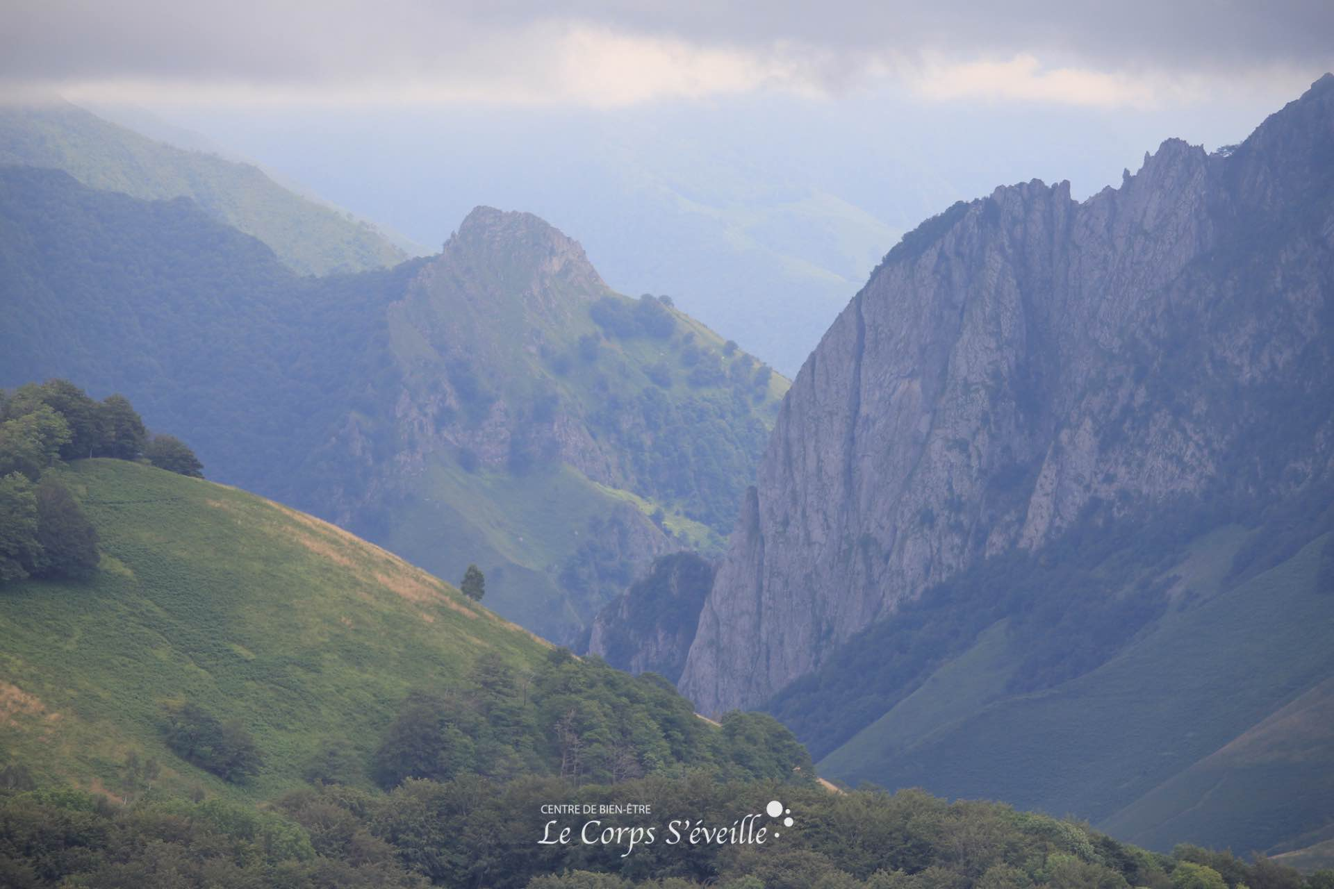 Photographie : Le Corps S'éveille, Centre de bien-être en Pyrénées Atlantiques.