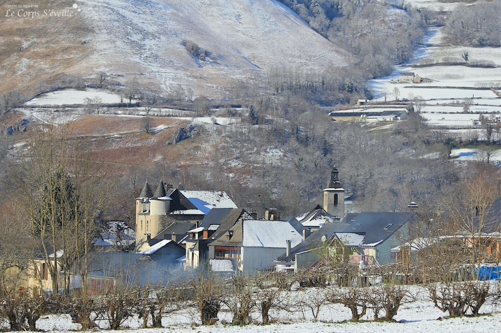 Prendre son temps à Bedous aux quatre saisons. Bien-être en Pyrénées Atlantiques.