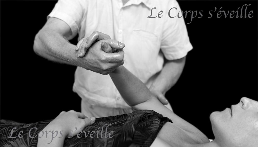 Les massages vus par Cyrille Cauvet, photographe, au Centre de bien-être.