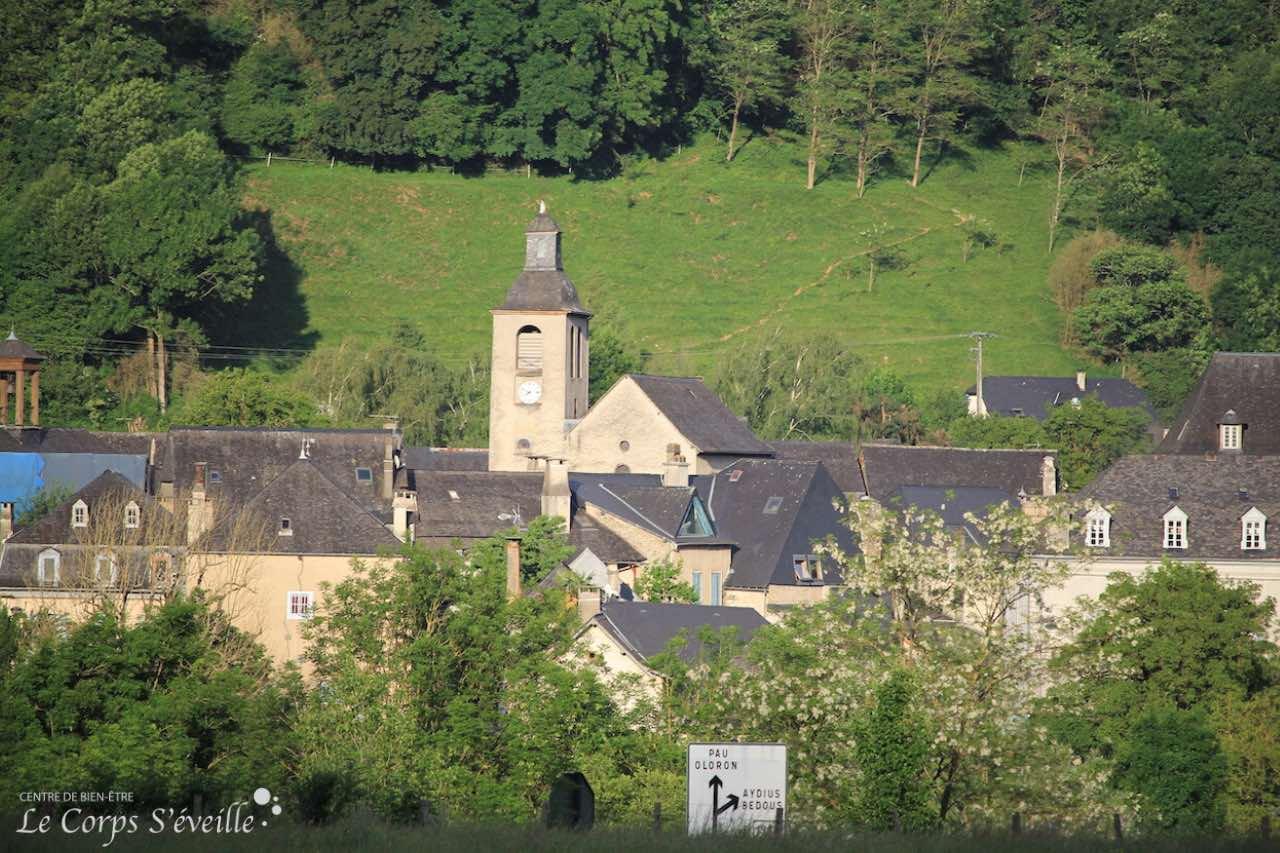 Le village de Bedous, dans les Pyrénées Atlantiques.