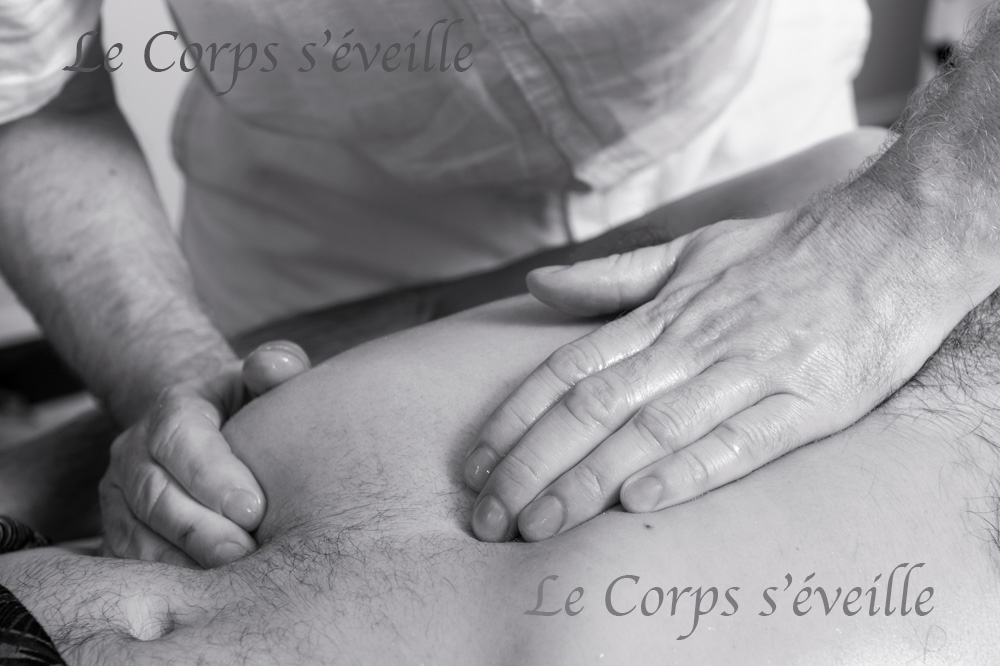 Les massages vus par Cyrille Cauvet, photographe d'art.